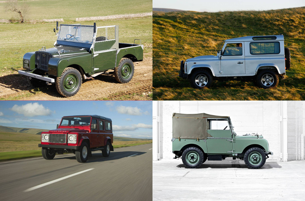 The History of the Defender: Series one to present day
