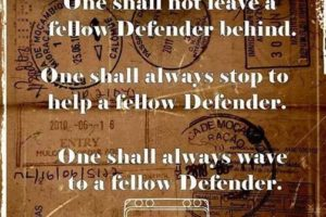 Laws of the Defender