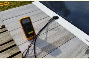 Zonnecel test / Solarcel test